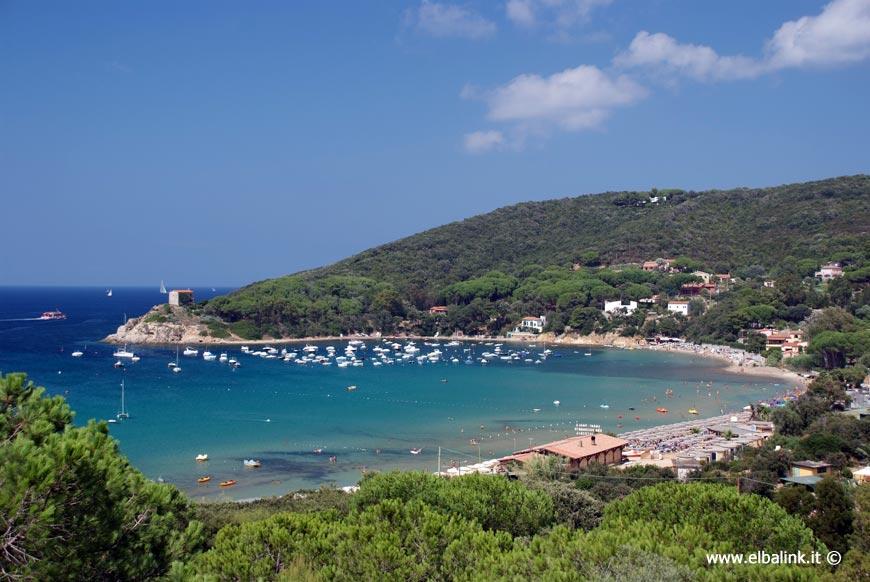 Procchio Elba Karte.Procchio Insel Elba Das Meer Die Strande Und Das Dorf